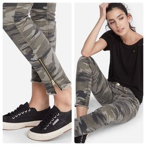Express Camo Print Mid-rise Ankle Legging Sz 0R